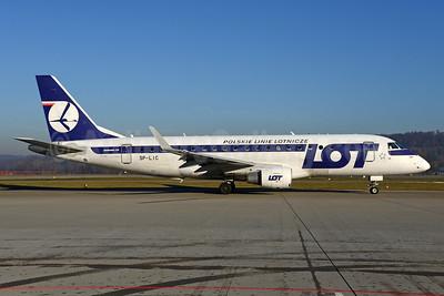 LOT Polskie Linie Lotnicze (LOT Polish Airlines) Embraer ERJ 170-200LR (ERJ 175) SP-LIC (msn 17000134) ZRH (Rolf Wallner). Image: 936042.