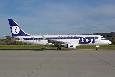 LOT Polskie Linie Lotnicze (LOT Polish Airlines) Embraer ERJ 170-200LR (ERJ 175) SP-LIM (msn 17000311) ZRH (Rolf Wallner). Image: 939693.