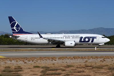 LOT Polish Airlines Boeing 737-8 MAX 8 SP-LVC (msn 43347) AYT (Ton Jochems). Image: 955126.