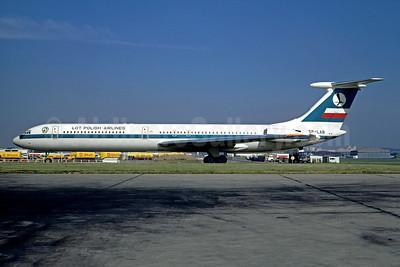 LOT Polish Airlines-Polskie Linie Lotnicze Ilyushin Il-62 SP-LAB (msn 21105) LBG (Christian Volpati). Image: 948792.