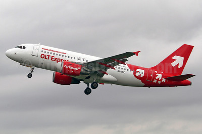 OLT Express (Poland) Airbus A319-111 SP-IBC (msn 2460) SEN (Keith Burton). Image: 908998.