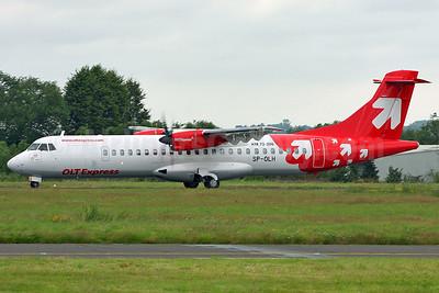 OLT Express (Poland) ATR 72-202 SP-OLH (msn 437) SEN (Keith Burton). Image: 908896.