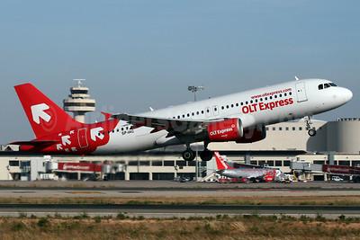 OLT Express (Poland) Airbus A320-214 SP-IAC (msn 973) PMI (Javier Rodriguez). Image: 908910.