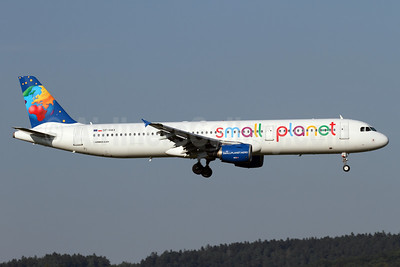 Small Planet Airlines (Poland) Airbus A321-211 SP-HAX (msn 2903) ZRH (Andi Hiltl). Image: 934865.