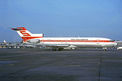 Air Columbus (Portugal) (Sterling Airways) Boeing 727-270 OY-SBI (msn 23052) (Sterling colors) MAN (Christian Volpati Collection). Image: 949593.