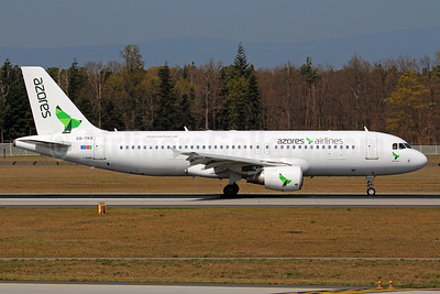 Azores Airlines Airbus A320-214 CS-TKQ (msn 2325) FRA (Marcelo F. De Biasi). Image: 937786.