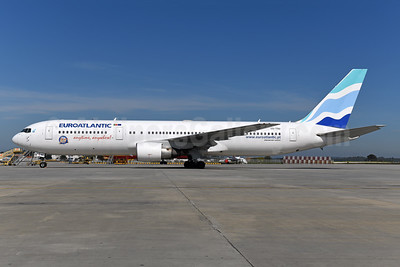 EuroAtlantic Airways Boeing 767-34P ER CS-TSU (msn 33048) OPO (Ton Jochems). Image: 946050.