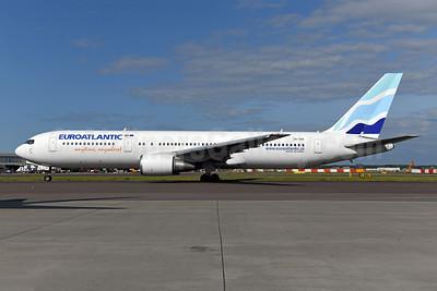 EuroAtlantic Airways Boeing 767-36N ER CS-TKR (msn 30854) AMS (Ton Jochems). Image: 946681.