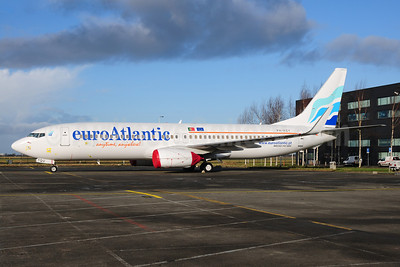 EuroAtlantic Airways Boeing 737-8K2 WL PH-HZY (CS-TQU) (msn 30646) AMS (Ton Jochems). Image: 907390.