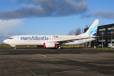 EuroAtlantic Airways Boeing 737-8K2 WL PH-HZY (CS-TQU) (msn 30646) AMS (Ton Jochems). Image: 907390.