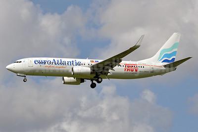 EuroAtlantic Airways-TACV Boeing 737-8K2 WL CS-TQU (msn 30646) AMS (Tony Storck). Image: 913529.