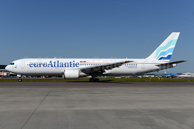 EuroAtlantic Airways Boeing 767-36N ER CS-TKT (msn 30853) AMS (Ton Jochems). Image: 933259.