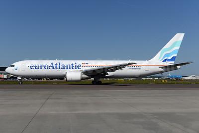 EuroAtlantic Airways Boeing 767-36N ER CS-TKT (msn 30853) AMS (Ton Jochems). Image: 933259.