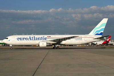 EuroAtlantic Airways Boeing 767-3Y0 ER CS-TFS (msn 25411) LHR (Wingnut). Image: 908260.