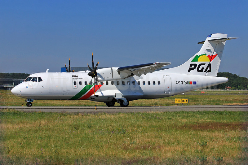 The first ATR 42-600 for PGA - Portugalia Airlines