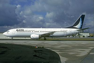 SATA Internacional Boeing 737-43Q CS-TGZ (msn 28491) (Christian Volpati Collection). Image: 923298.