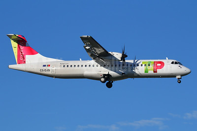 TAP Portugal Express (White Airways) ATR 72-212A (ATR 72-600) CS-DJG (msn 1316) LIS (Marcelo F. De Biasi). Image: 940713.