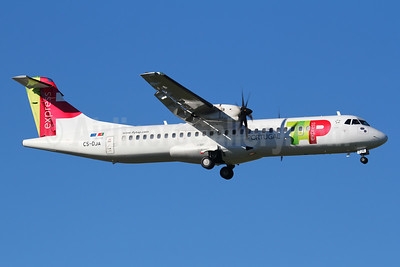 TAP Portugal Express (White Airways) ATR 72-212A (ATR 72-600) CS-DJA (msn 1294) LIS (Marcelo F. De Biasi). Image: 940712.