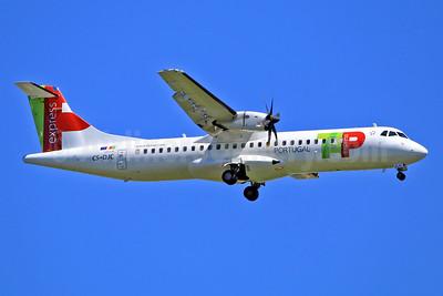 TAP Portugal Express (White Airways) ATR 72-212A (ATR 72-600) CS-DJC (msn 1232) TLS (Eurospot). Image: 932761.