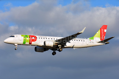 TAP Portugal Express (Portugalia Airlines) Embraer ERJ 190-100LR CS-TPS (msn 19000493) TLS (Paul Bannwarth). Image: 935809.