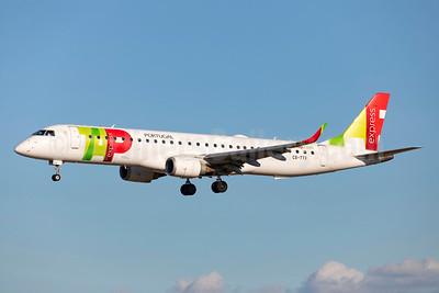 TAP Portugal Express (Portugalia Airlines) Embraer ERJ 190-200 IGW (ERJ 195) CS-TTX (msn 19000429) LIS (Stefan Sjogren). Image: 942646.