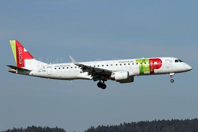 TAP Portugal Express (Portugalia Airlines) Embraer ERJ 190-100LR CS-TPW (msn 19000550) ZRH (Andi Hiltl). Image: 938912.