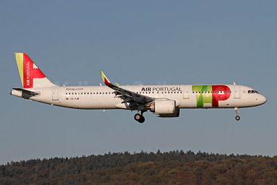 TAP Portugal - Air Portugal Airbus A321-251N WL CS-TJM (msn 8145) ZRH (Andi Hiltl). Image: 947916.