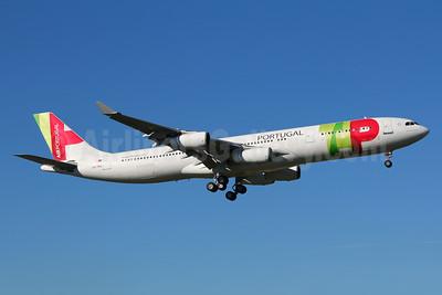 TAP Portugal - Air Portugal Airbus A340-312 CS-TOC (msn 079) LIS (Marcelo F. De Biasi). Image: 940711.