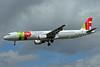 TAP Portugal Airbus A321-211 CS-TJF (msn 1399) LHR (Bruce Drum). Image: 101650.