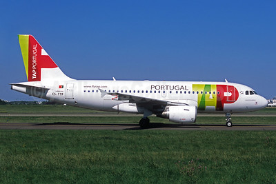 TAP Portugal Airbus A319-111 CS-TTF (msn 837) ORY (Jacques Guillem). Image: 937479.