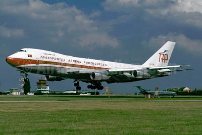 TAP-Transportes Aereos Portugueses Boeing 747-282B CS-TJB (msn 20502) ORY (Jacques Guillem). Image: 934915.