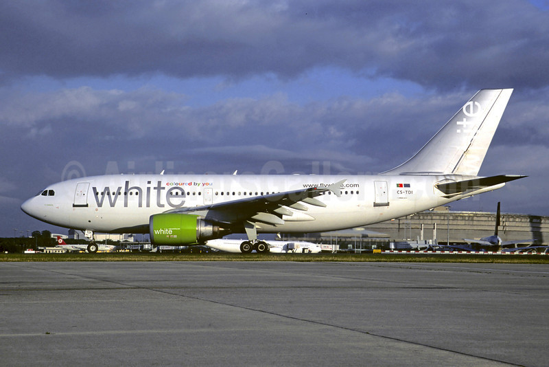 White Airways Airbus A310-304 CS-TDI (msn 573) CDG (Christian Volpati). Image: 906702.