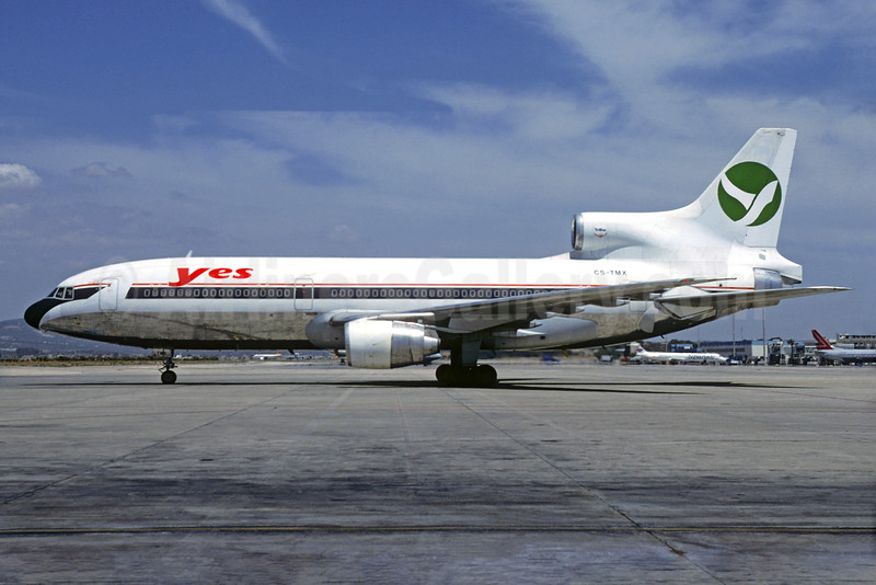 Yes-Linhas Aereas Charter Lockheed L-1011-385-3 TriStar 500 CS-TMX (msn 1206) (Delta Air Lines colors) PMI (Christian Volpati Collection). Image: 930733.