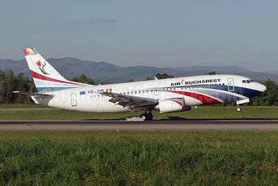 Air Bucharest Boeing 737-3L9 YR-TIB (msn 27924) BSL (Paul Bannwarth). Image: 922652.