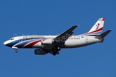 Air Bucharest Boeing 737-3L9 YR-TIB (msn 27924) BSL (Paul Bannwarth). Image: 924050.