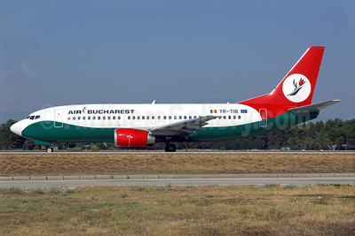 Air Bucharest Boeing 737-3L9 YR-TIB (msn 27924) AYT (Antony J. Best). Image: 939249.
