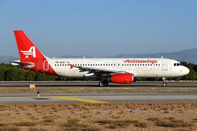 Animawings Airbus A320-232 YR-AGA (msn 3162) AYT (Ton Jochems). Image: 954972.