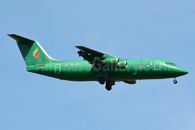 Aviro Air BAe 146-300 YR-AVR (msn E3193) (Astra Airlines colors) BSL (Paul Bannwarth). Image: 934156.