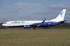 Blue Air Boeing 737-86N WL YR-BME (msn 34251) LTN (Antony J. Best). Image: 934970.