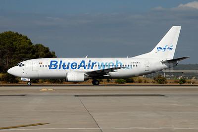 Blue Air (BlueAirweb.com) Boeing 737-33A YR-BAA (msn 27267) PMI (Ton Jochems). Image: 954202.