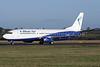 Blue Air Boeing 737-4Q8 YR-BAR (msn 25371) LTN (Antony J. Best). Image: 925548.