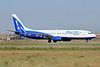 Blue Air (BlueAirweb.com) Boeing 737-8AS WL YR-BIA (msn 29925) FCO (Marco Finelli). Image: 904619.