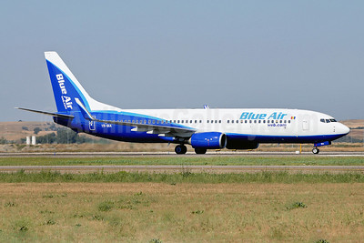 Blue Air (BlueAirweb.com) Boeing 737-8AS WL YR-BIA (msn 29925) FCO (Marco Finelli). Image: 904619.