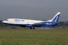 Blue Air (BlueAirweb.com) Boeing 737-430 YR-BAK (msn 27005) LTN (Antony J. Best). Image: 921205.