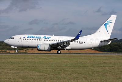 Blue Air Boeing 737-79P WL YR-BMA (msn 30651) LTN (Antony J. Best). Image: 934969.