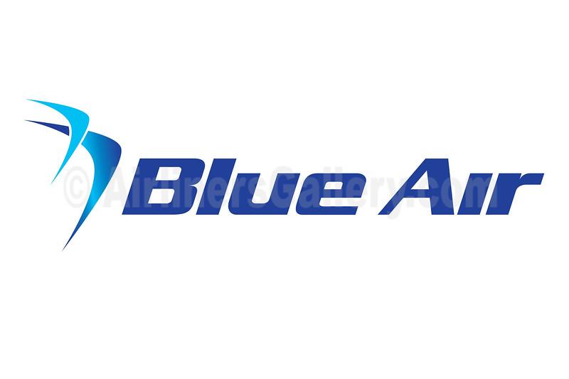 1. Blue Air logo