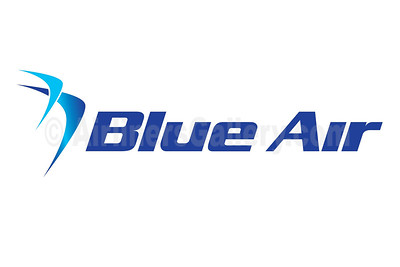 1. Blue Air logo