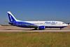 Blue Air (BlueAirweb.com) Boeing 737-430 YR-BAK (msn 27005) BRU (Ton Jochems). Image: 907929.