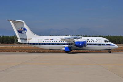 Romavia BAe 146-200A YR-BEC (msn E2062)  AYT (Ton Jochems). Image: 953905.