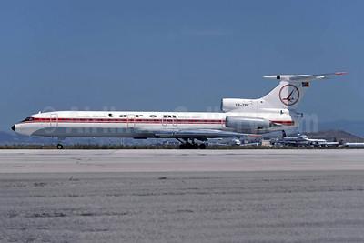 TAROM-Transporturile Aeriene Romane-Romanian Air Transport Tupolev Tu-154B YR-TPC (msn 76A175) ATH (Richard Vandervord). Image: 949178.